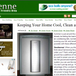 Keeping Your Home Cool, Clean and Green