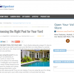 Choosing the Right Pool for Your Yard, HomeTipster